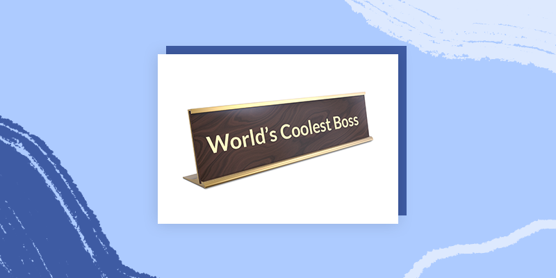 Personalized Funny Desk Signs