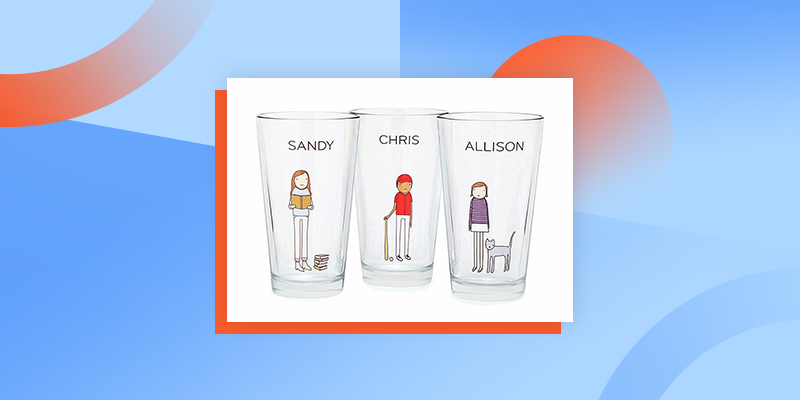 Personalized Hobby Pint Glasses