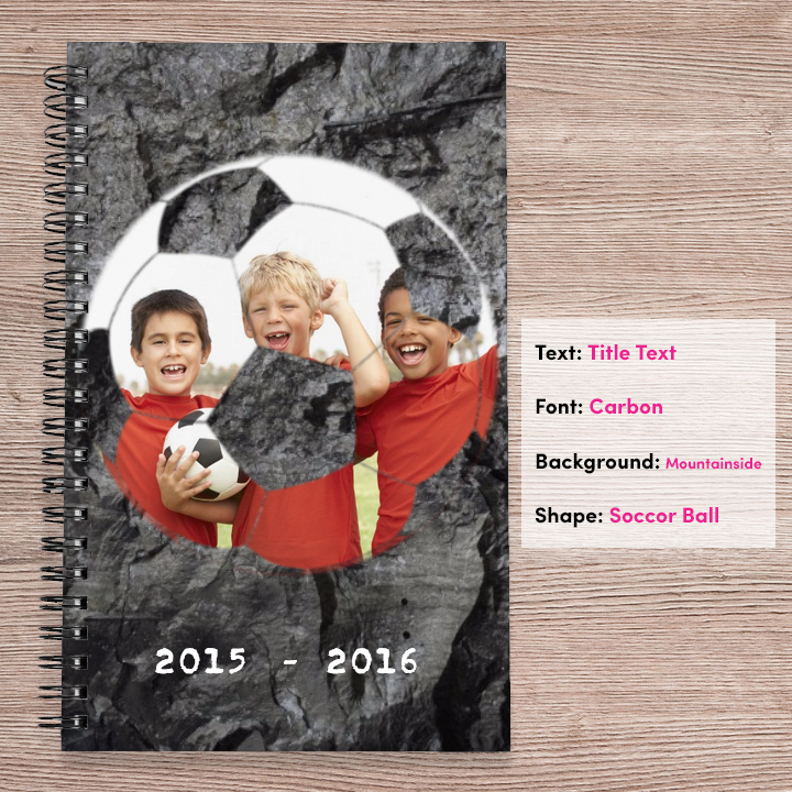 Photo notebook from Collage.com